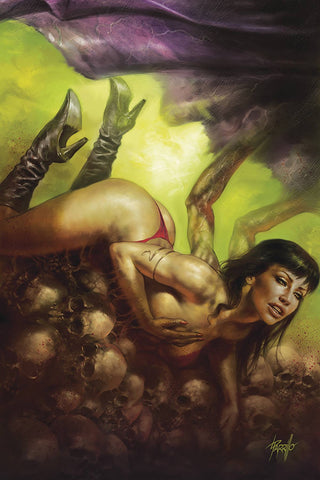 VAMPIRELLA #9 PARRILLO LTD VIRGIN CVR