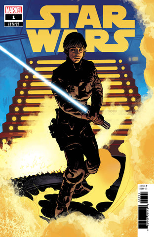 STAR WARS #1 HUGHES LUKE VAR