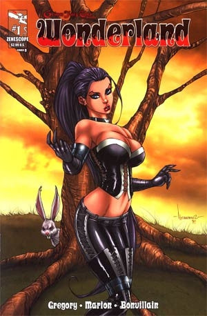 Grimm Fairy Tales Presents Wonderland Vol 2 #1 Cover D
