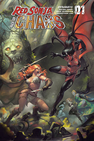RED SONJA AGE OF CHAOS #1 HETRICK VAR