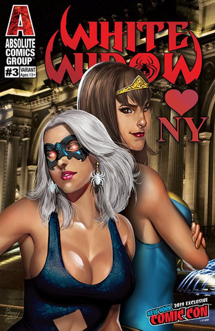 WHITE WIDOW #3 NYCC BENNY POWELL EXCLUSIVE
