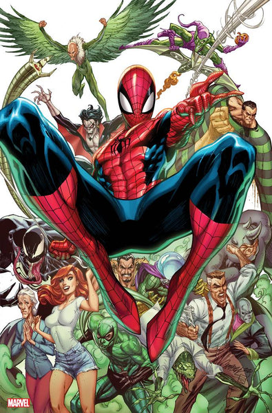 AMAZING SPIDER-MAN #49 J SCOTT CAMPBELL VIRGIN VAR