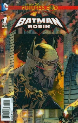 Batman And Robin Futures End #1 Cover A 3D Motion Cover