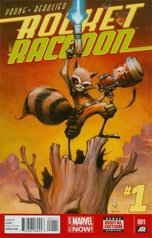 Rocket Raccoon Vol 2 #1 Cover A 1st Ptg Regular Skottie Young CV