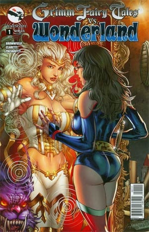 Grimm Fairy Tales vs Wonderland #1 Cover A