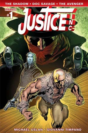 Justice Inc Vol 3 #1 Cover D Variant Ardian Syaf Cover