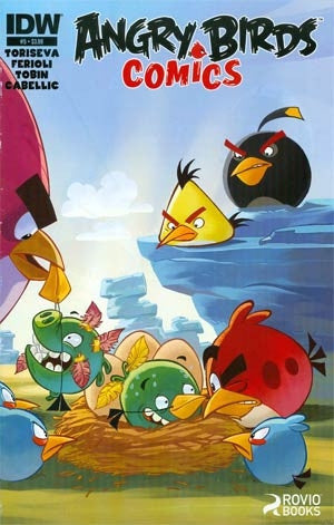 Angry Birds Comics #5 Cover A Regular Paco Rodriguez Cover