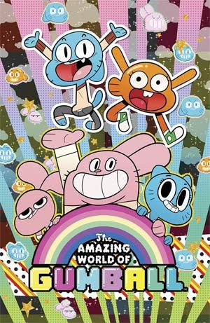 Amazing World Of Gumball #1 Cover F Denver Con Exclusive