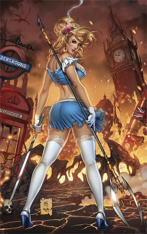 Grimm Fairy Tales Presents Cinderella #1 Cover A