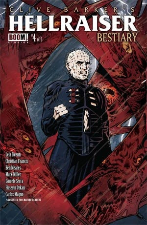 Clive Barkers Hellraiser Bestiary #4 Cover A