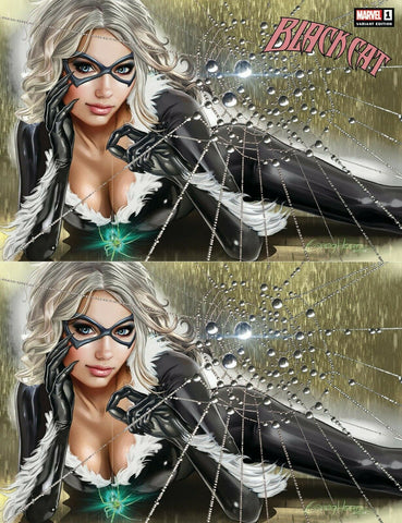 BLACK CAT #1 GREG HORN COMICXPOSURE 2 PACK EXCLUSIVE