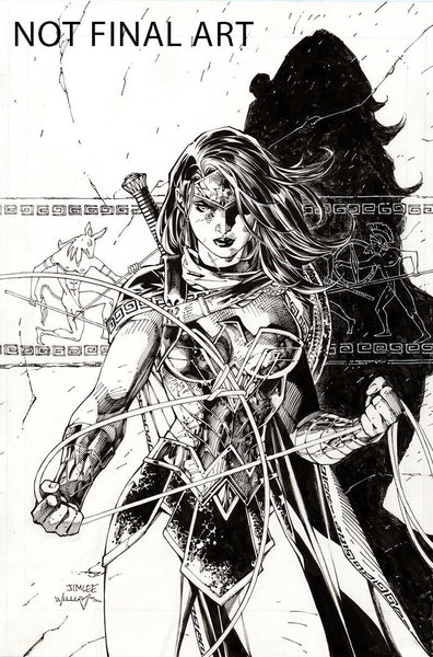 WONDER WOMAN #750 2001S JIM LEE VAR ED