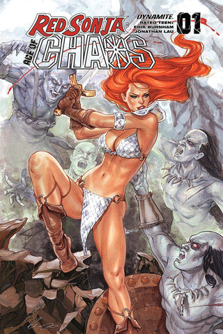 RED SONJA AGE OF CHAOS #1 CHATZOUDIS VAR