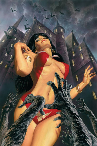 VAMPIRELLA #1 ALEX ROSS VIRGIN CVR
