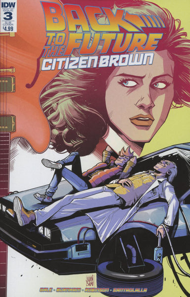 BACK TO THE FUTURE CITIZEN BROWN #3 (of 5) SUBSCRIPTION VARIANT
