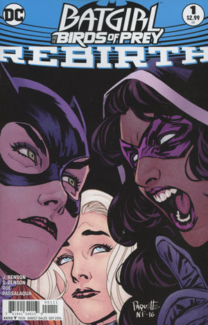 BATGIRL & THE BIRDS OF PREY REBIRTH #1 COVER A 1st PRINT