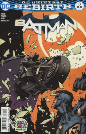 BATMAN VOL 3 #3 COVER A DAVID FINCH 1st PRINT