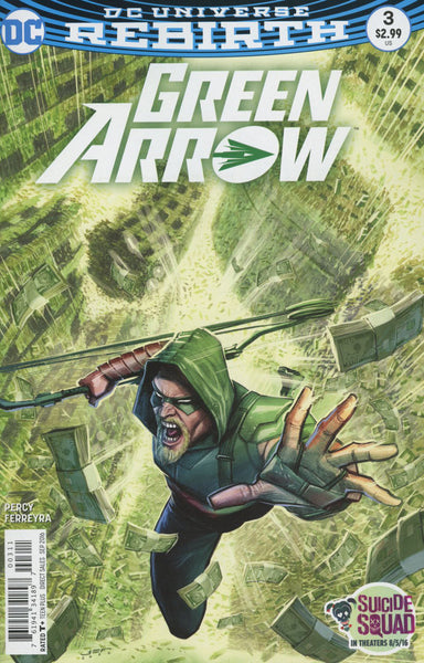 GREEN ARROW VOL 7 #3 COVER A FERREYRA 1ST PRINT