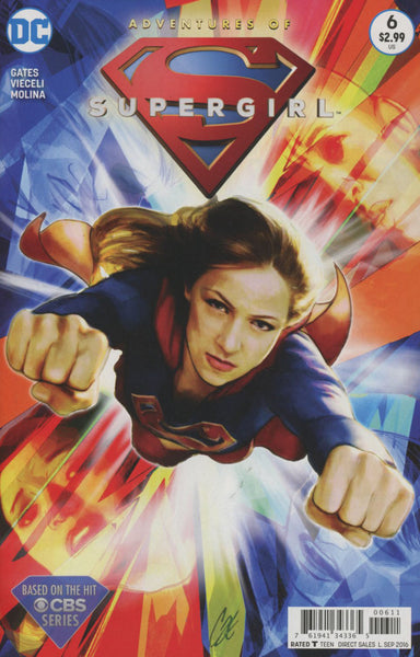 ADVENTURES OF SUPERGIRL #6 1st PRINT