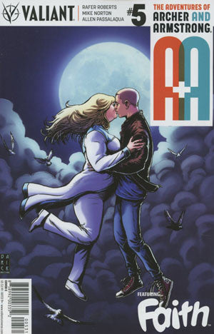 A&A #5 ADVENTURES OF ARCHER & ARMSTRONG CVR C ROBERTSON VARIANT