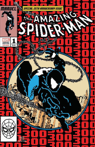 AMAZING SPIDER-MAN #1 8 BIT 300 HOMAGE EXCLUSIVE
