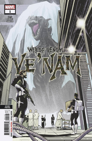 WEB OF VENOM VE NAM #1 2ND PTG RAMIREZ VAR