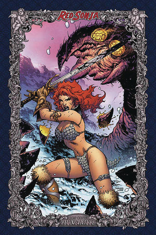 RED SONJA AGE OF CHAOS #1 JIM LEE ICON INCV