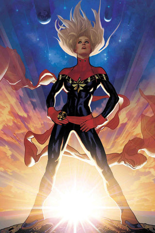 CAPTAIN MARVEL #1 HUGHES VIRGIN VAR