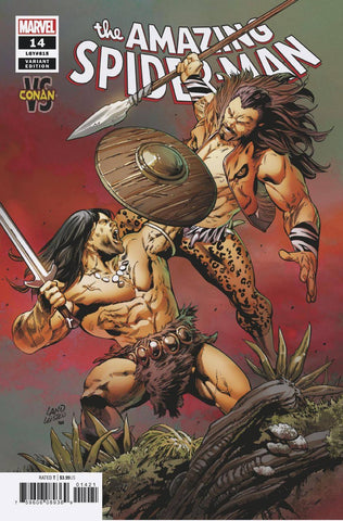 AMAZING SPIDER-MAN #14 LAND CONAN VAR