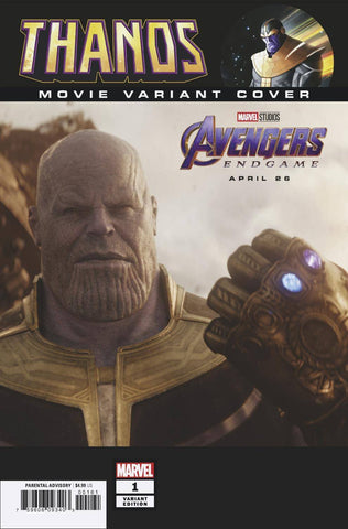 THANOS #1 (OF 6) MOVIE VAR