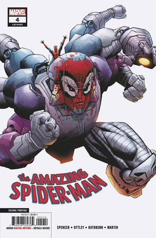 AMAZING SPIDER-MAN #4 2ND PTG OTTLEY VAR