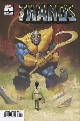THANOS #1 (OF 6) OLIVETTI VAR