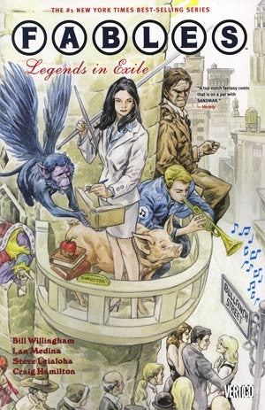 Fables Vol 1 Legends In Exile TP New Edition