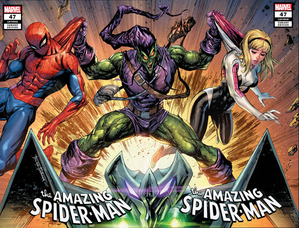 AMAZING SPIDER-MAN #47 TYLER KIRKHAM EXCLUSIVE SET
