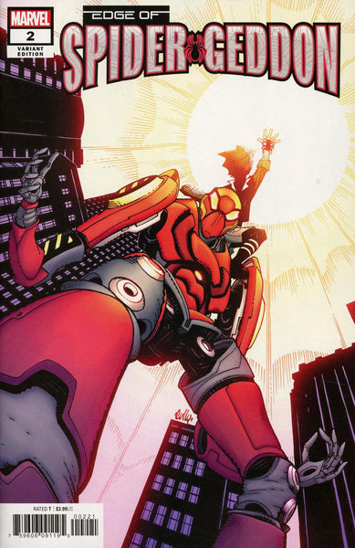 EDGE OF SPIDER-GEDDON #2 (OF 4) HAMNER VAR