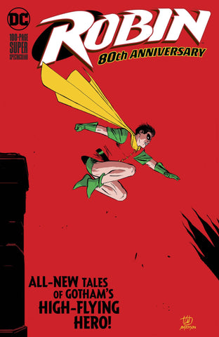 ROBIN 80TH ANNIV 100 PAGE SUPER SPECT #1
