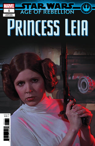 STAR WARS AOR PRINCESS LEIA #1 MOVIE VAR