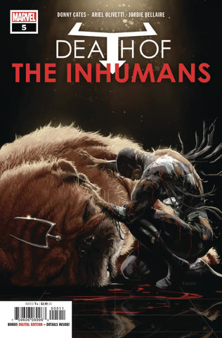 DEATH OF INHUMANS #5 (OF 5)
