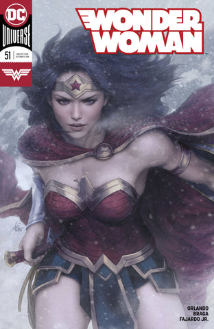 WONDER WOMAN #51 ARTGERM