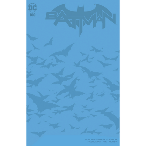 BATMAN #100 BLUE BLANK EXCLUSIVE (JOKER WAR)
