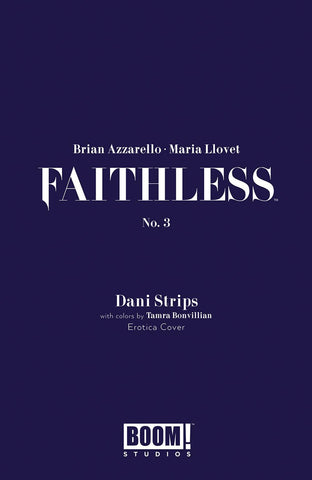 FAITHLESS #3 (OF 5) CVR B EROTICA STRIPS VAR (MR)