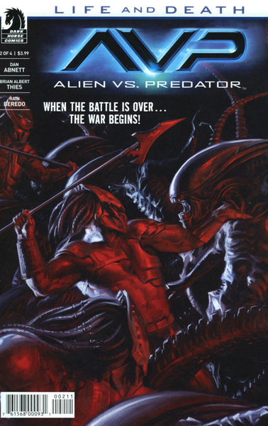 ALIENS VS PREDATOR LIFE & DEATH #2