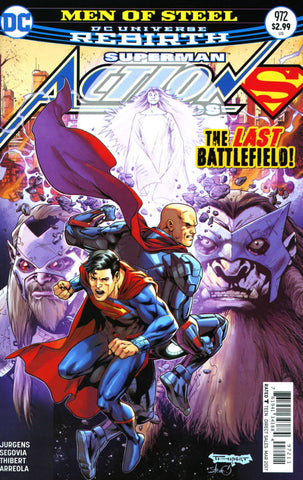 ACTION COMICS VOL 2 #972 COVER A 1ST PRINT