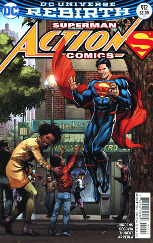 ACTION COMICS VOL 2 #972 COVER B GARY FRANK VARIANT