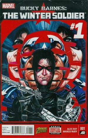 Bucky Barnes Winter Soldier #1