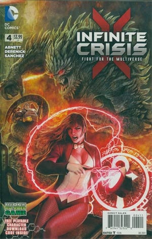 Infinite Crisis Fight For The Multiverse #4