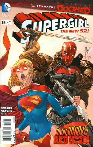 Supergirl Vol 6 #35 (Superman Doomed Aftermath)