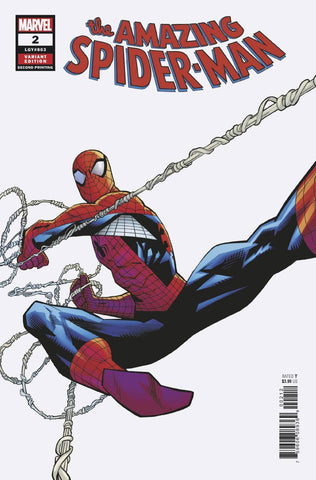 AMAZING SPIDER-MAN #2 2ND PTG OTTLEY VAR
