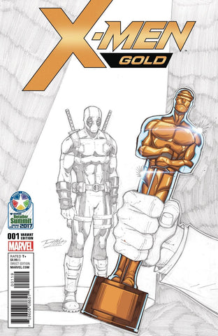 X-MEN GOLD #1 LIM VARIANT RETAILER SUMMIT 2017 VARIANT