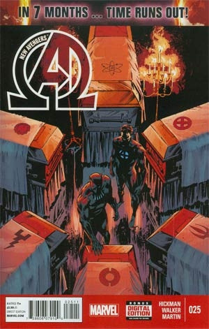 New Avengers Vol 3 #25 (Time Runs Out Tie-In)
